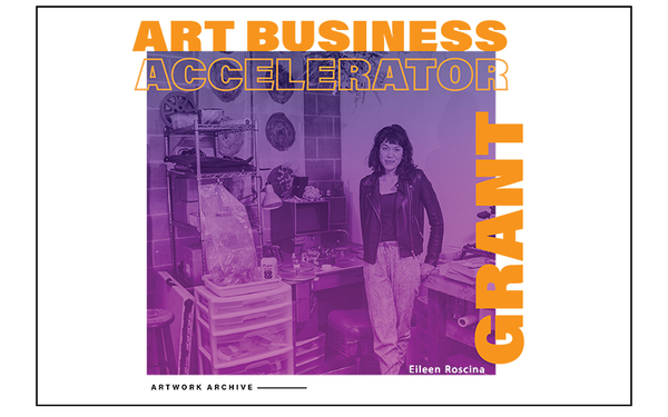 Announcing Artwork Archive's Art Business Accelerator Grant