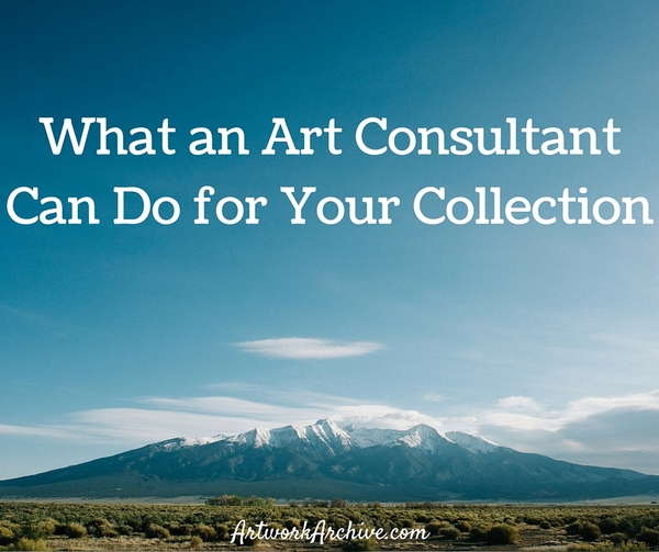 What an Art Consultant Can Do for Your Collection