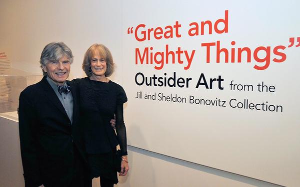 Collector Spotlight: Jill and Sheldon Bonovitz, Champions of Outsider Art
