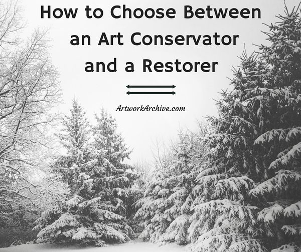 How to Choose Between an Art Conservator and a Restorer