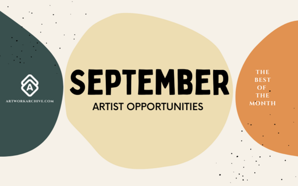 The Best Opportunities for Artists in September 2021