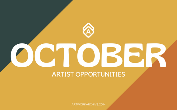 The Best Opportunities for Artists in October 2021