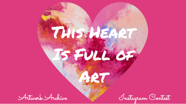 Artwork Archive Instagram Contest: This Heart Is Full of Art