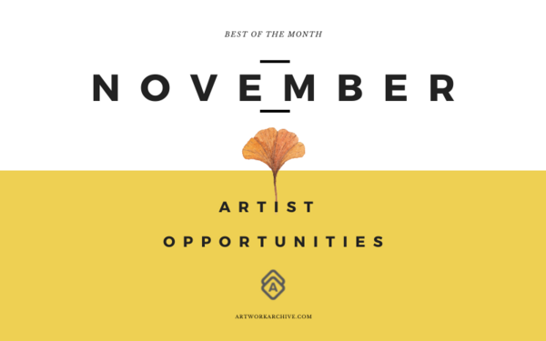 The Best Opportunities for Artists in November 2021