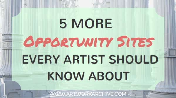 5 More Opportunity Sites Every Artist Should Know About