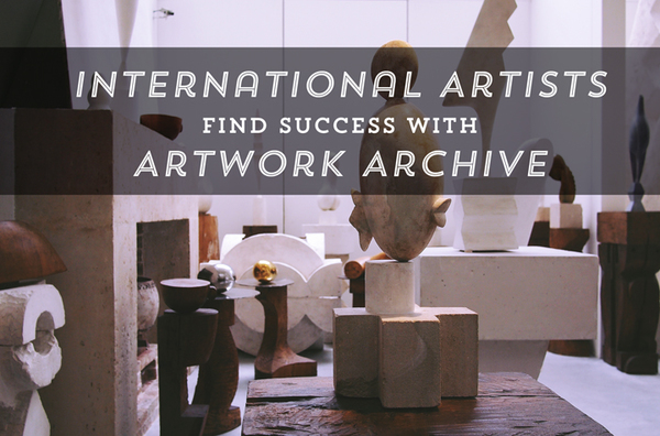 International Artists Find Success with Artwork Archive