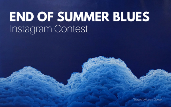 Instagram Contest Winner: End of Summer Blues