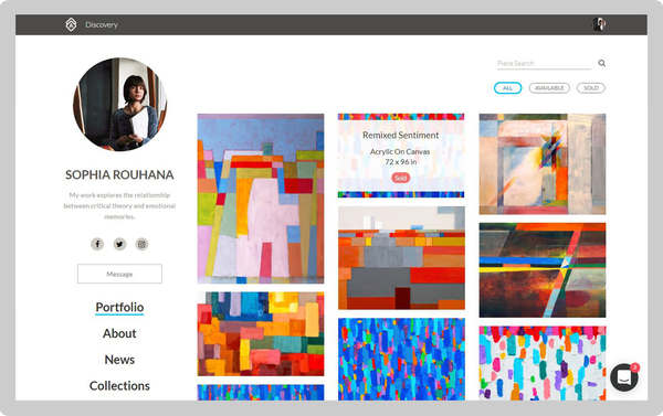 Say Hello to Artwork Archive's New Public Profile