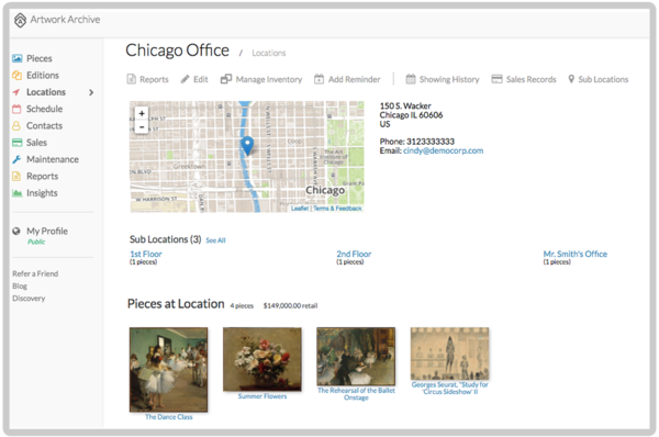 Your Art Collection's Guardian: Artwork Archive's Location Tool