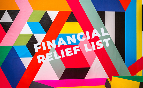Financial Relief Resources for Artists During COVID-19