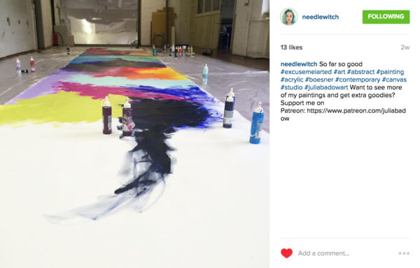 Why Every Artist Should Be on Instagram