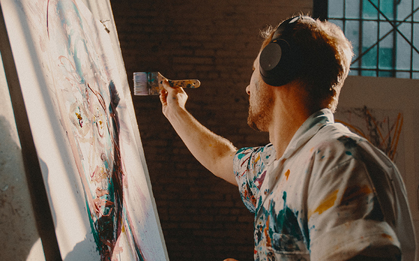 Artist Pep Talk: 5 Tips to Get Back into the Studio