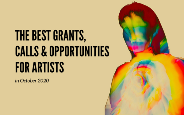 Monthly Art Opportunities: The Best Opportunities with October Deadlines
