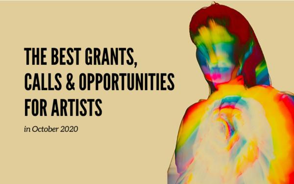 Monthly Art Opportunities: The Best Opportunities with October Deadlines