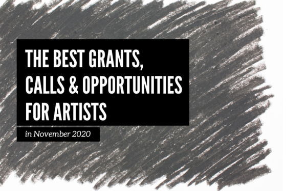 November Art Opportunities: The Best Opportunities for Artists this Month