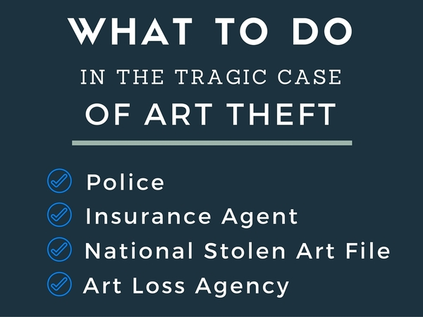 What to Do in the Tragic Case of Art Theft