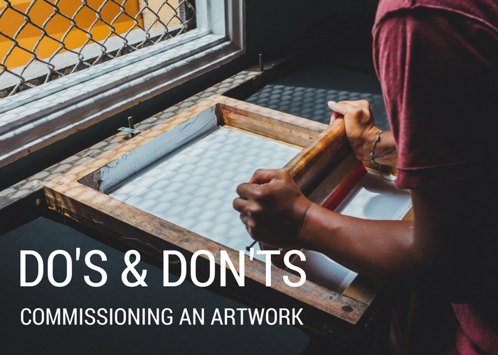 474e50a1ff182d You've created a vision for a work of art that you want, or you've found an  artist that fits perfect with your style. So, how do you go about asking  them to ...