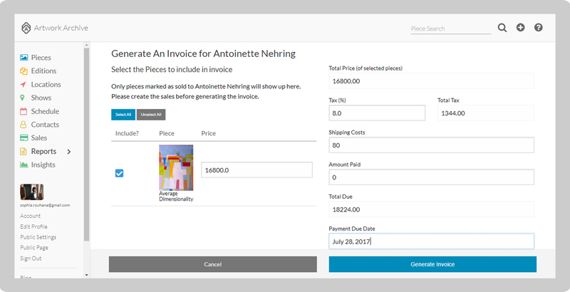 How To Make A Seamless Art Sale Artwork Archive