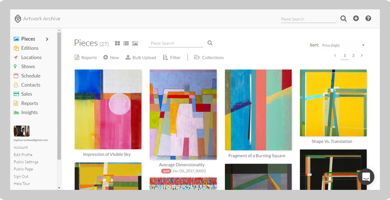 how to finally keep track of your artwork artwork archive