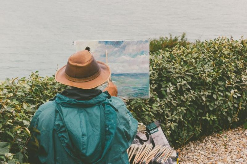 How to stop perfectionism from ruining your art artwork for Best way to sell art