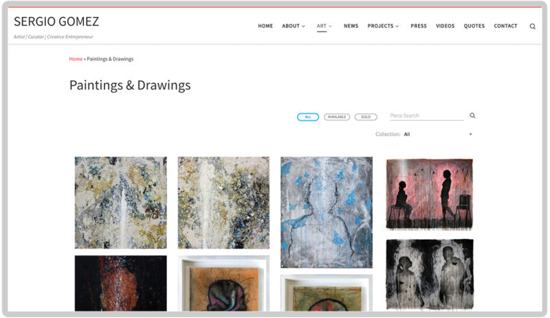 Introducing Website Integrations on Artwork Archive