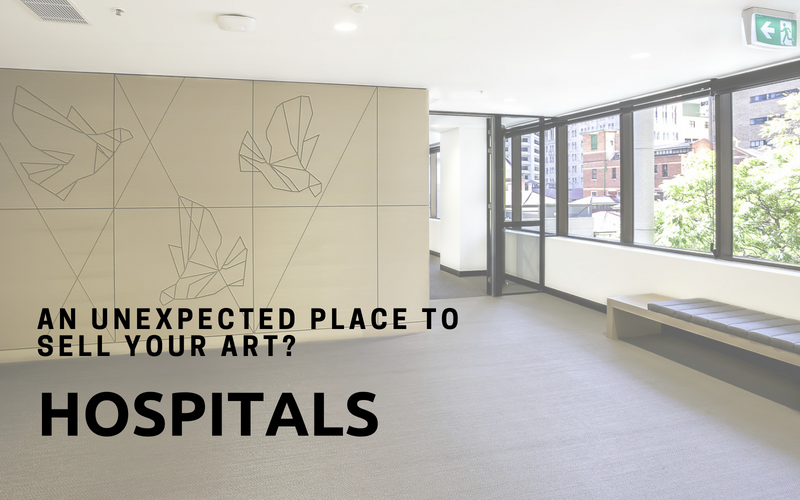 An Unexpected Place to Sell Your Art? Hospitals  | Artwork