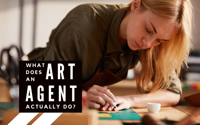 What does an art agent actually do?