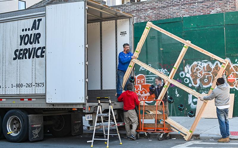 art shipping, art transit, art damage in transit, packing art, shipping art
