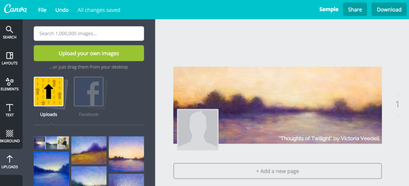 can i upload a pdf to canva