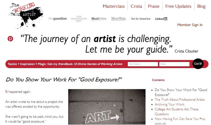 50 Terrific Topics to Write About for Your Art Blog