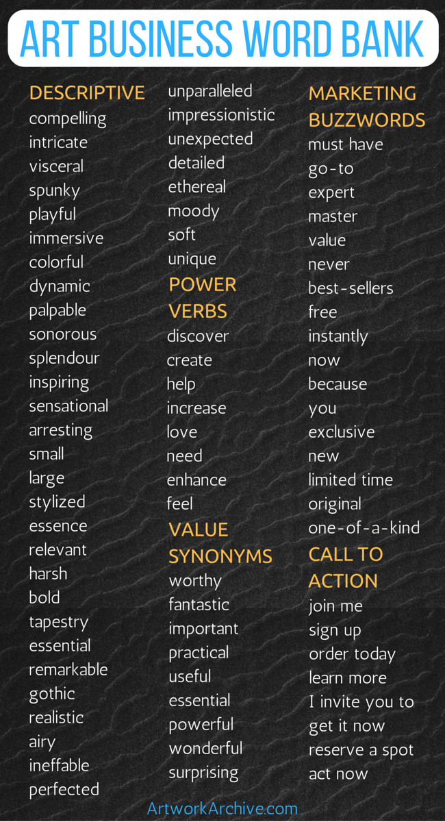 professional words to use